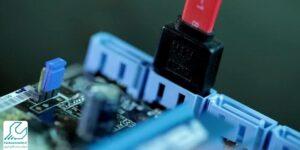 اتصال کابل های Data و Power مادربورد