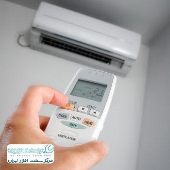 تنظیم گرمایش کولر گازی