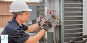 تعمیر خازن کولر گازی